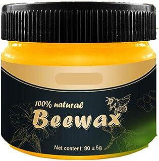 ARONTIME 4pcs Cuidado De Muebles Cera De Abejas Wood Seasoning Beewax para El Cuidado De Muebles Y La Protección De La Mad...