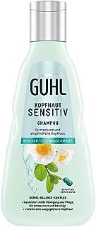 Champú para cuero cabelludo de Guhl Sensitiv con té blanco y menta de agua cuidado suave para cuero cabelludo sensible ...