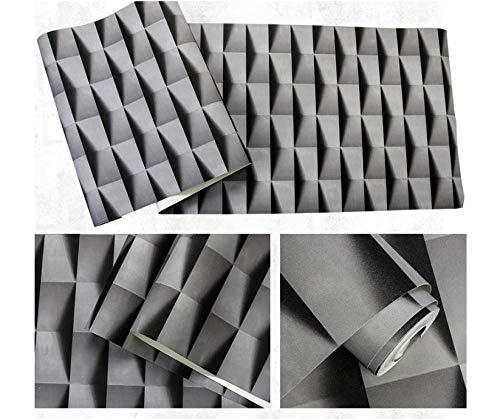 3D Dreidimensionale Abstrakte Bekleidungsgeschäft Wasserdichte Tapete,Pvc Geometrische Tv Hintergrund Tapete-A