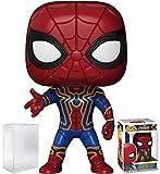 Funko Pop! Marvel: Avengers Infinity War - Iron Spider-Man Vinyl Figure (Bundled with Pop Box Protector Case)
