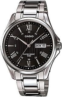 Casio Enticer Analog Black Dial Men's Watch - MTP-1384D-1AVDF (A879)