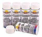Unbekannt 5X Spraydose Grundierung Haftgrund weiß 400ml Rostschutz Korrosionsschutz Primer
