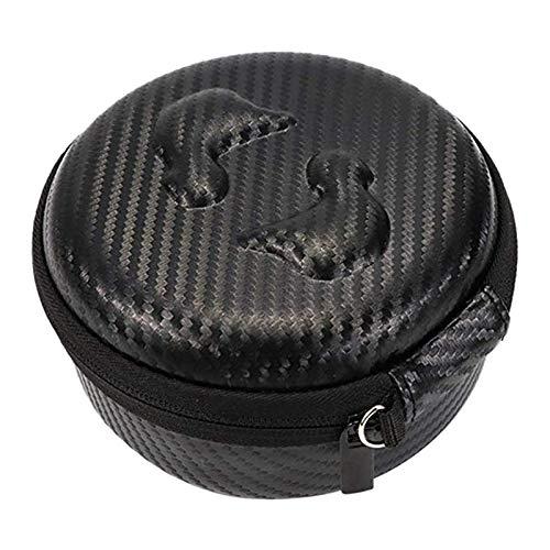 Noblik Portátil Funda Estuche De Almacenamiento Duro De Transporte para Gear Iconx Headphone Negro