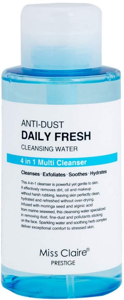 Miss Claire Anti Dust 永遠の定番 Daily Fresh Water Cleansing White 400 ml トラスト