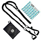 Corefirst Hands Free Training Bodyweight Fitness Resistance Band Training, At Home Work Outs for All Levels, Activate Your Core First, Lightweight & Portable Workout Community (12-18lbs of Resistance)