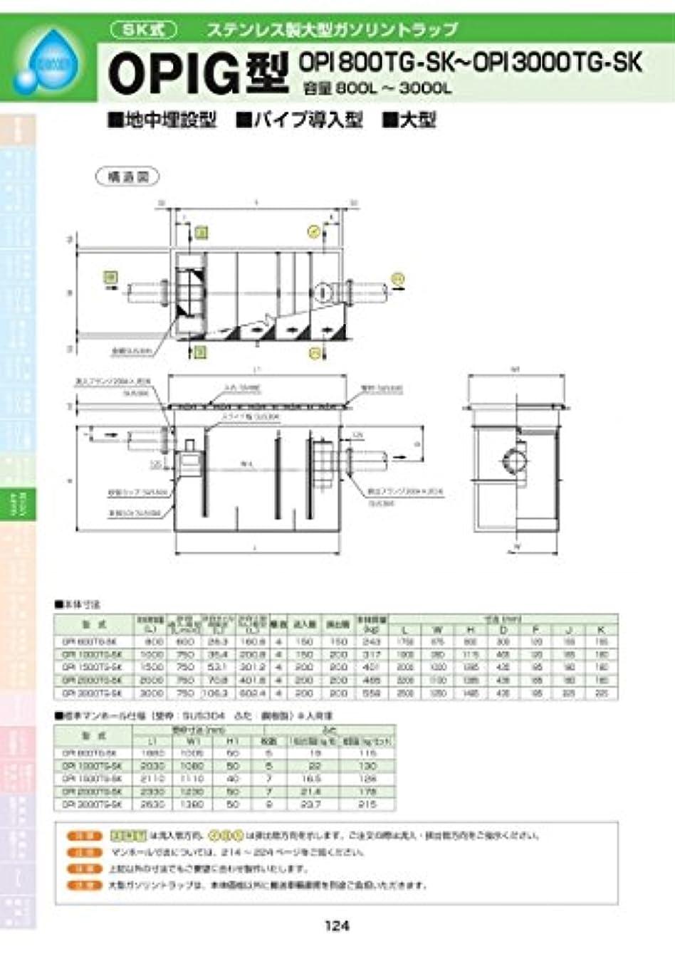 租界単位応用OPIG型 OPI-1500TG-SK 耐荷重蓋仕様セット(マンホール枠:ステンレス / 蓋:溶融亜鉛メッキ) T-6