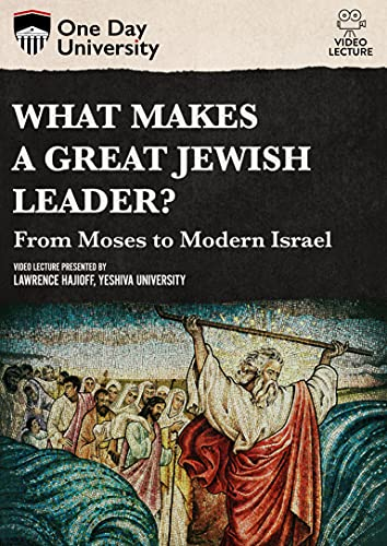 One Day University: What Makes a Great Jewish Leader?: From Moses to Modern Israel [DVD]