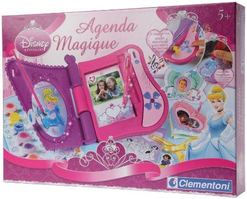 clementoni-62114-loisir créatif-Princesses–Agenda ELECTRONIQUE