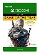 Game of the Year Edition includes The Witcher 3: Wild Hunt, all 16 DLCs, and 2 Expansion Packs: Hearts of Stone & Blood and Wine.