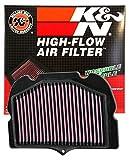 K&N Engine Air Filter: High Performance, Premium, Powersport Air Filter: Fits 2008-2019 SUZUKI (GSX1300R, Hayabusa, GSX1300RA, GSX1300R, 50th Ann. Edition, GSX1300R, Limited Edition) SU-1308