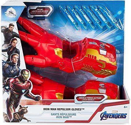 D Disney Store - Guanti da repulsore Iron Man, Avengers: Endgame - con luci e suoni
