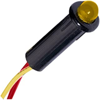 Paneltronics LED Indicator Light - Amber - 120 VAC - 1/4 Marine , Boating Equipment