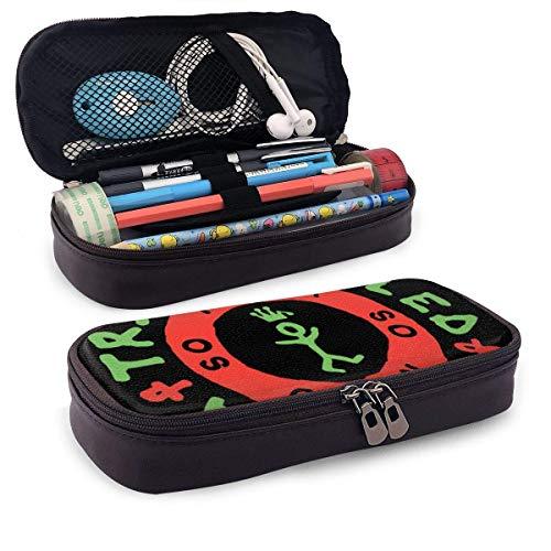 shenguang A Tribe Called Quest Portapenne portatile Simpatico portapenne in pelle sintetica Pu Custodia per cancelleria da scrivania con portapenne con cerniera per la scuola