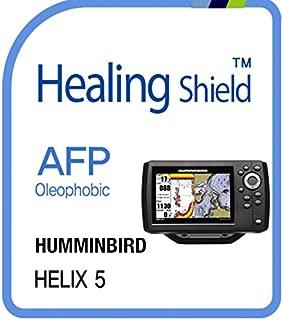 Protector de Pantalla para HUMMINBIRD Solix, AFP Oleophobic Coating Screen Protector Clear LCD Guard Healing Shield Film Transparente Transparente Helix 5