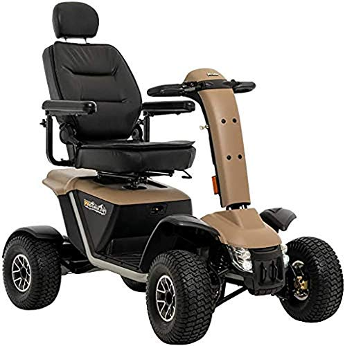 Great Deal! Pride Wrangler MV600 All Terrain Scooter Desert Sand