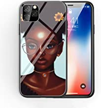 iPhone Xs Max Tempered Glass Phone Case A-1 2bunz Melanin Poppin Aba Soft Silicone TPU Cover