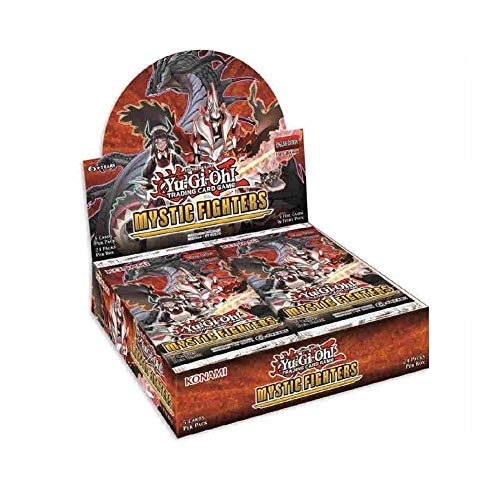 Yu-Gi-Oh KONMYFI Mystic Fighters Booster Display Box van 24 Pakketten