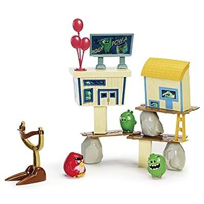 Angry Birds - Pig City Strike Playset