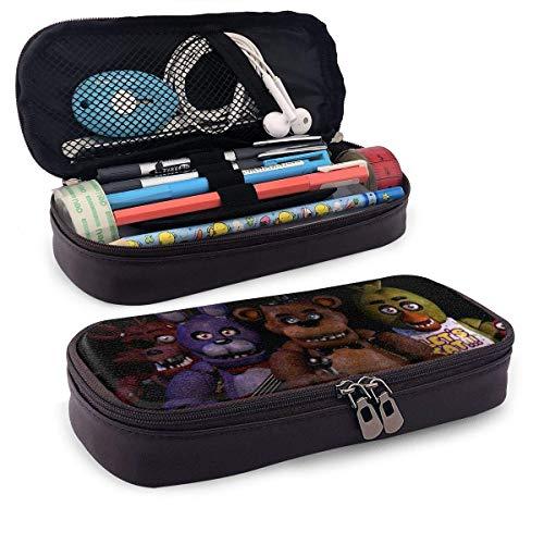 Five Nights at Freddy FNAF Roll Up Folle - Estuche de gran capacidad para lápices (tamaño grande), bolsa de maquillaje para adolescentes SCH
