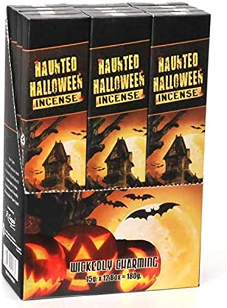 Song Of India Haunted Halloween Incense 15g Box 12