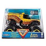 Monster Jam Official Earth Shaker Monster Truck Die-Cast Vehicle, 1:24 Scale