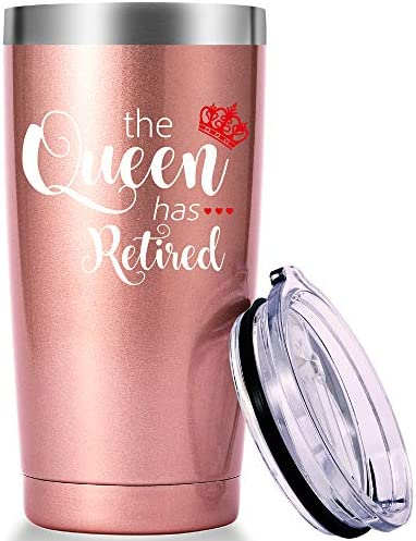 The Queen Has Retired Mug Happy Retirement Gifts for Women Christmas Gifts for Retiree Retirement product image