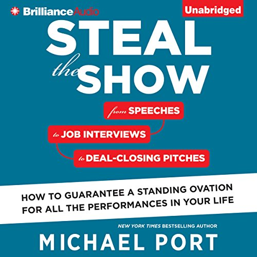 Steal the Show audiobook cover art