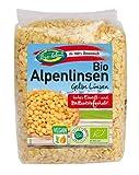 Lentejas amarillas orgánicas 100% de austria 1. 75kg de lentejas peladas orgánicas, austriacas, calidad extra 7x250g