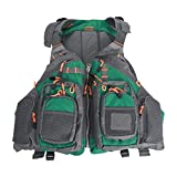 Amarine Made Fly Fishing Vest Pack (Fishing Vest/Fishing Sling Pack/Fishing Backpack) (Blue)