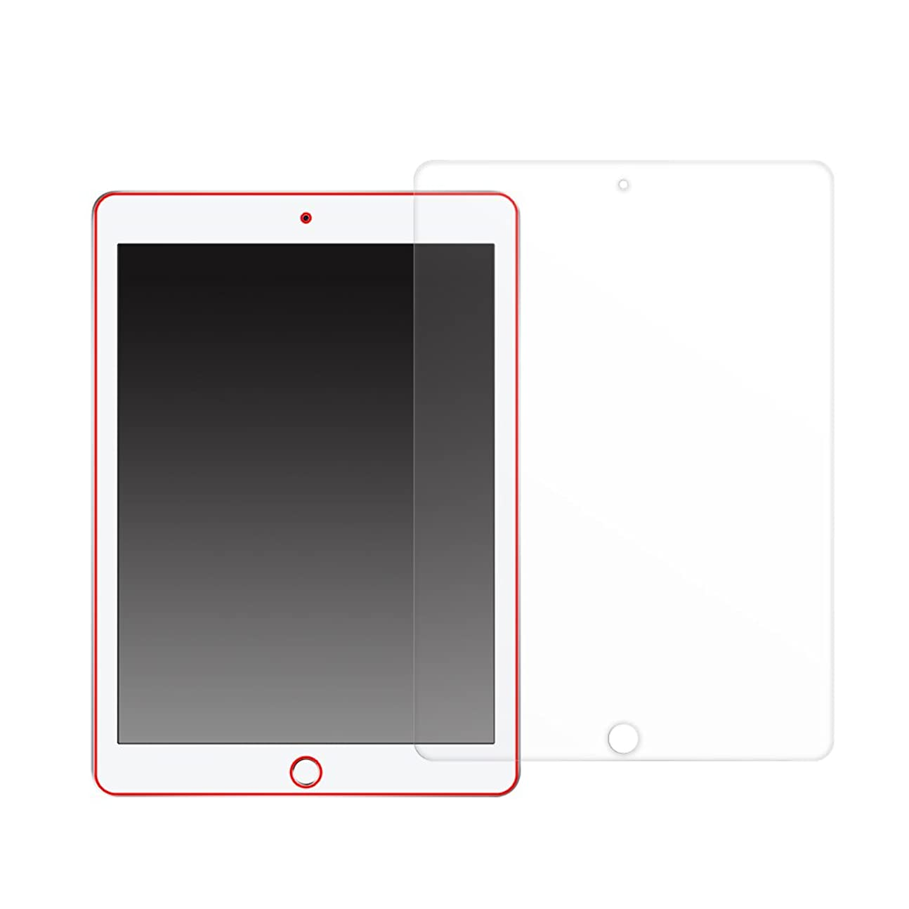 難破船申し込むMS factory iPad Pro 9.7/iPad 9.7 (第6世代 2018)/iPad (第5世代 2017)/iPad Air2/Air 液晶保護 フィルム ブルーライト カット fiel.D MXPF-ipad-BL