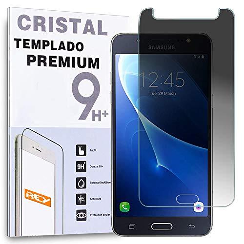 REY Protector de Pantalla Anti ESPÍA para Samsung Galaxy J5 2016, Cristal...