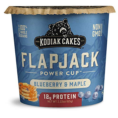 Kodiak Cakes Pancake On the Go Blueberry and Maple 216 Ounce Pack of 12