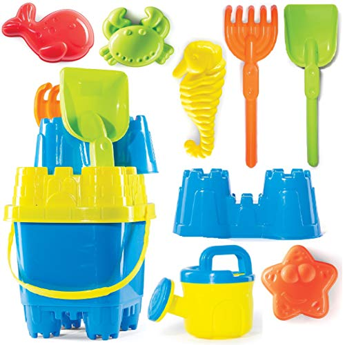 10 Piece Beach Toys Sand Toys Set