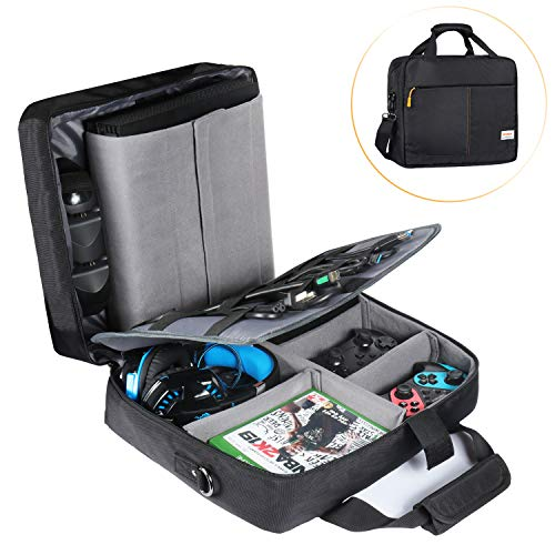 Estarer PS4 Bag Console Carrying Case Travel Storage Handbag/Shoulder Bag for PS4/Xbox System and Accessories