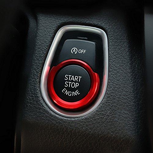 Car styling aluminum dedicato Start Button decorazione cerchio