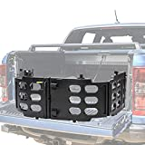 Xiaoyudou Bed Tailgate Stowable Folding Collapsable Extender for Ford All 2015 Thru 2021 F150 Including Raptor Model Repalce FL3Z-99286A40-C (Updated Version)
