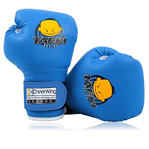 Cheerwing Kids Boxing Gloves 4oz Training Gloves for Youth and Toddler Punching Mitts Kickboxing Muay Thai Gloves