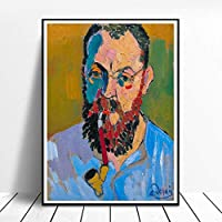 Henri Matisse肖像画ポスター寝室リビング部屋装飾Matisse壁アートパネルホーム玄関フォーヴィスム画像壁装飾複数サイズAndre Derain絵画プリントキャンバス