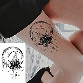 4pcs Impermeable Etiqueta engomada del Tatuaje Indio Dios Ganesha ...