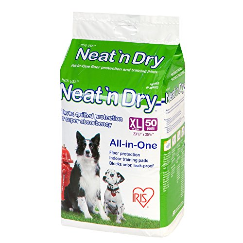 IRIS Neat 'n Dry Premium Pet Training Pads, Extra Large