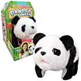 Liberty Imports Plush Panda Pet Electronic Toy - Walking, Turn Around, Make Sounds for Kids
