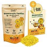 Pastilles 100% naturelles à la cire d'abeille de l'apiculteur pour la fabrication de bougies parfumées 100g 200g 500g