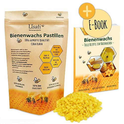 Pastillas de cera de abeja de apicultor 100 % naturales,