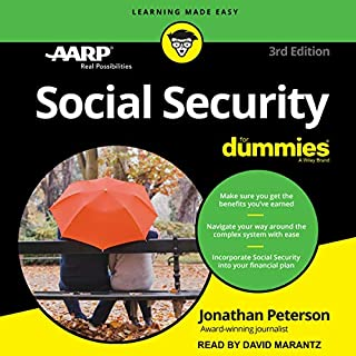 Social Security for Dummies audiobook cover art