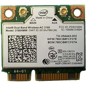 Bplus  intel 3160HMW  mPCIe Dual Band Wireless-AC 3160 802.11ac Dual Band 1x1  433Mbps   Wi-Fi + Bluetooth 4.0 - Bplus Technology is an intel Gold Partner.