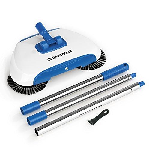 CLEANmaxx Bodenkehrer mit LED-Beleuchtung 4,5V in Blau/Weiß - 4