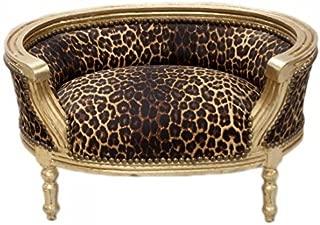 Baroque Cats  amp  Sofa Leopard Gold Dog Bed  amp  Cat Bed