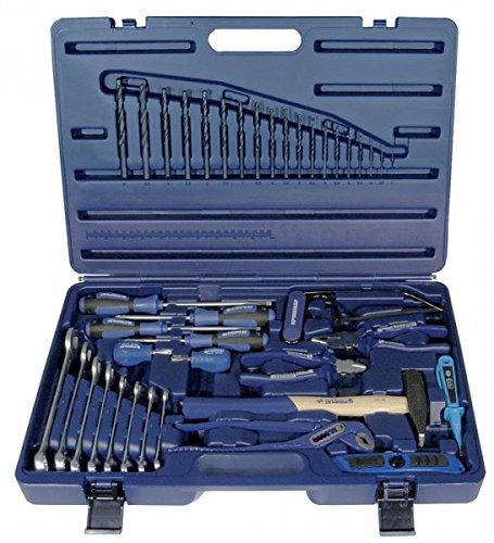 PROMAT 820224 Werkzeugkoffer 40tlg. blau schlagfest m.Handwerkzeugen PROMAT