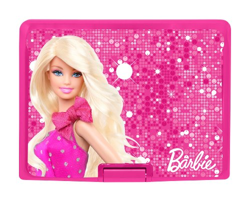 Barbie DVDP 1 BB Tragbarer DVD-Player (17,8 cm (7 Zoll) LC-Display, DivX-Zertifiziert, SD-Kartenslot, USB 2.0) pink