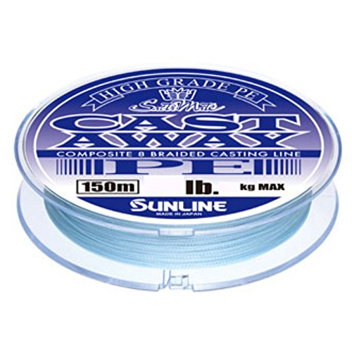 サンライン(SUNLINE) PEライン ソルティメイト キャストアウェイ 150m 30lb パールブルー